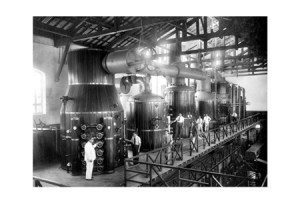 A fábrica de papel
