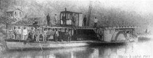 Barco a vapor 1913