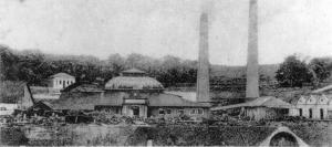 Figura 04: Engenho Central de Piracicaba, no início do século XX. Arquivo DPH IPPLAP