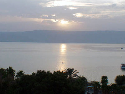 ISRAEL - Mar da Galiléia