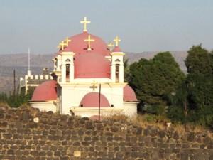 Galileia - Um das muitas igrejas da região