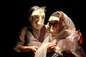 Grupo Tecelagem, de Jacarei, ministra oficina de máscaras -Foto Edna Medici