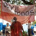 Espetáculo Tekohá abre programação na praça - foto Cátia Santos