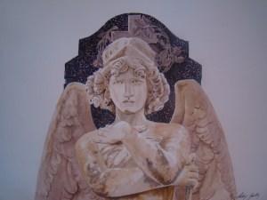 Anjo do Juízo Final - Cemitério da Santa Casa de Misericórdi a de Porto Alegre