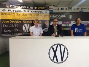Celso Christofoletti, Edvaldo Ferraz e Lucélia Rodrigues Lemes