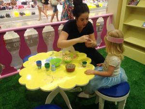 As Princesas Disney também contam com espaço para confecção de itens