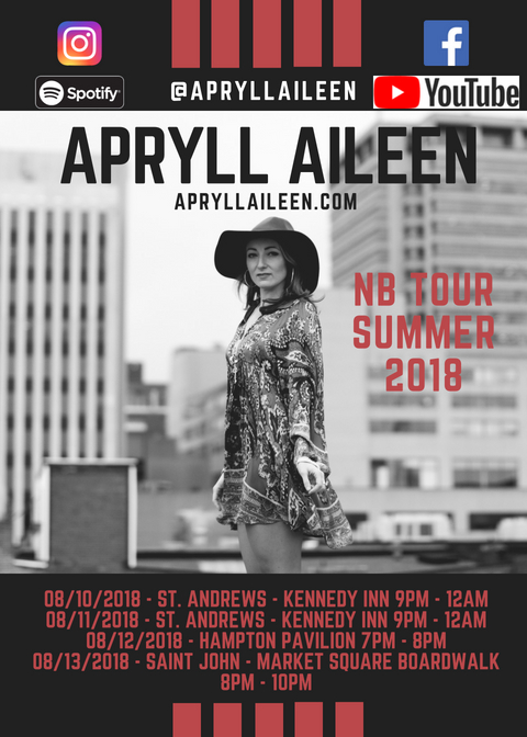 APRYLL AILEEN – AUGUST SHOW DATES