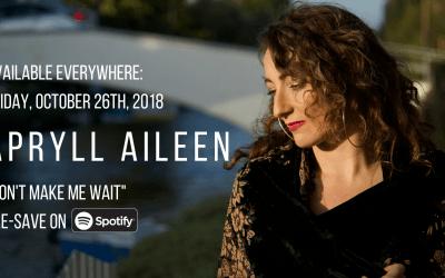 APRYLL AILEEN – New Music & Saint John/Halifax Show Dates!