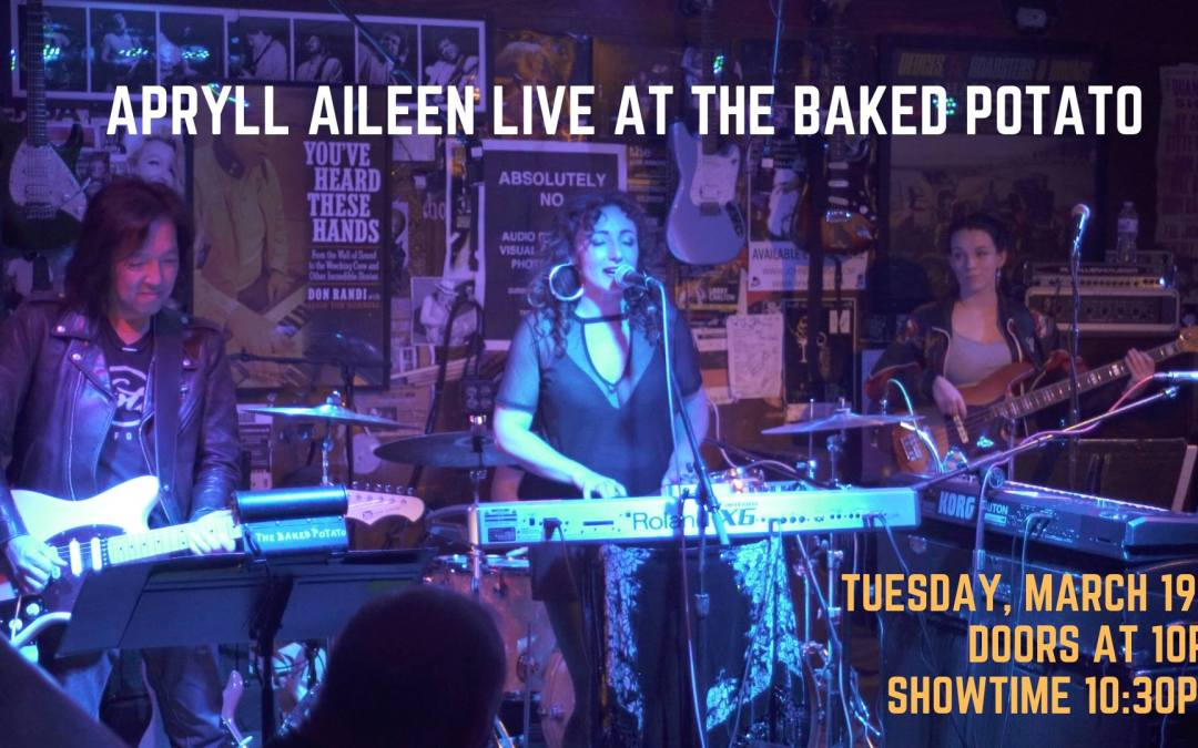 APYLL AILEEN – TONIGHT AT THE BAKED POTATO JAZZ CLUB!