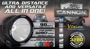 Vision X Light Cannon 90W LED  APS