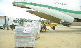 نقل 29 طنا من المساعدات الإنسانية لفائدة شعب النيجر
