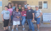 APS Crew that assisted with Maria's Habitat for Humanity Home