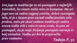 Joga priporocilo Tadeja S