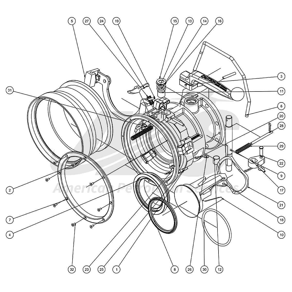 Kit Overhaul J451