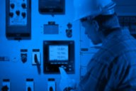 APT technician reviewing meters