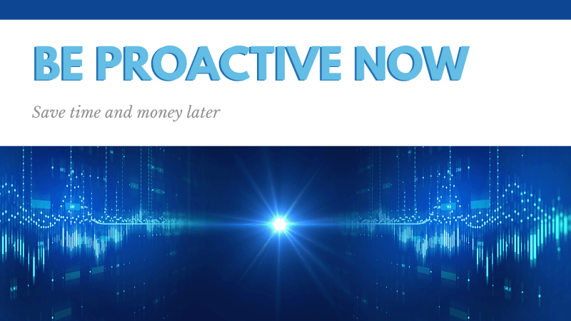 Be Proactive now, Save time and Money Later cover for Coordination and Arc Studies: Why APT?