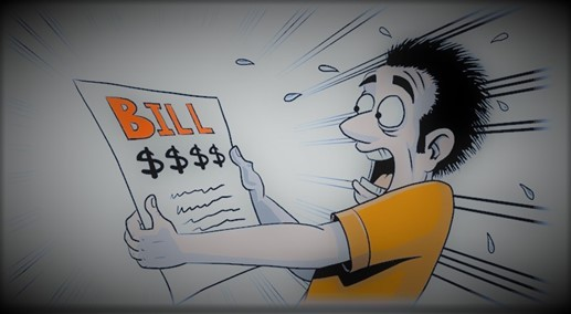 Utility Bill Freak out