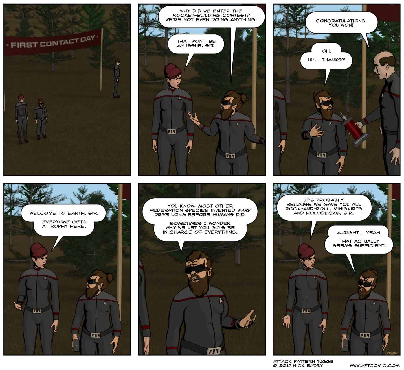 STO – First Contact Day