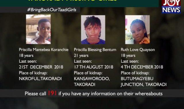 Taadi missing girls