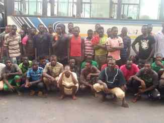 59 migrants involved in 'galamsey' arrested at Mpohor in the Western Region