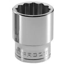 Facom Series J. 3/8 Drive Short Sockets