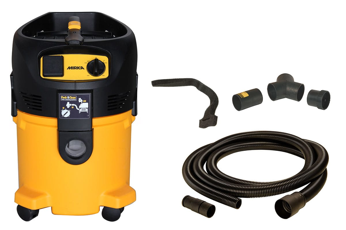 MIRKA Industrial Vacuum Cleaner 915 L