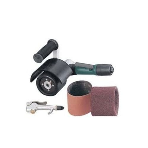Mini-Dynisher Finishing Tool.4 hp Rear Exhaust 3,200 RPM 5//8 Dia Arbor Dynabrade 13300 7 Degree Offset