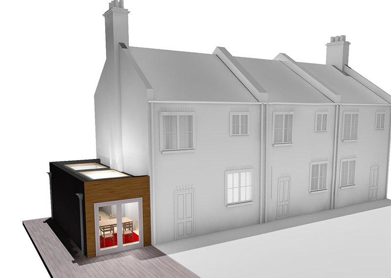 single storey side extension london