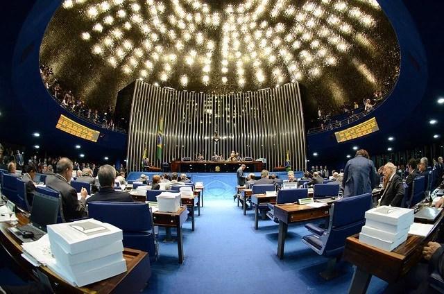 Plenário do Senado (Foto: Ana Volpe/ Agência Senado)