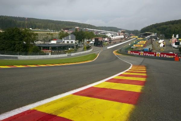 Premio de Bélgica en el circuito de Spa