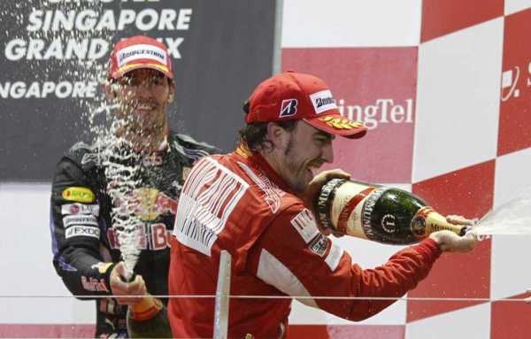 Alonso gana en Singapur