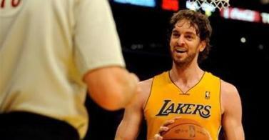 Baloncesto-Los Lakers