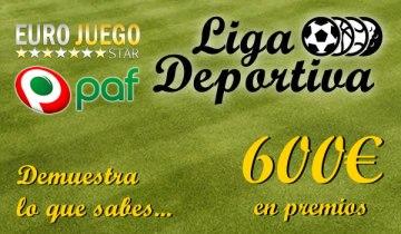 ligadeportiva2 Liga deportiva Todoapuestas   600€ mensuales en premios @Eurojuego es y @Paf esp