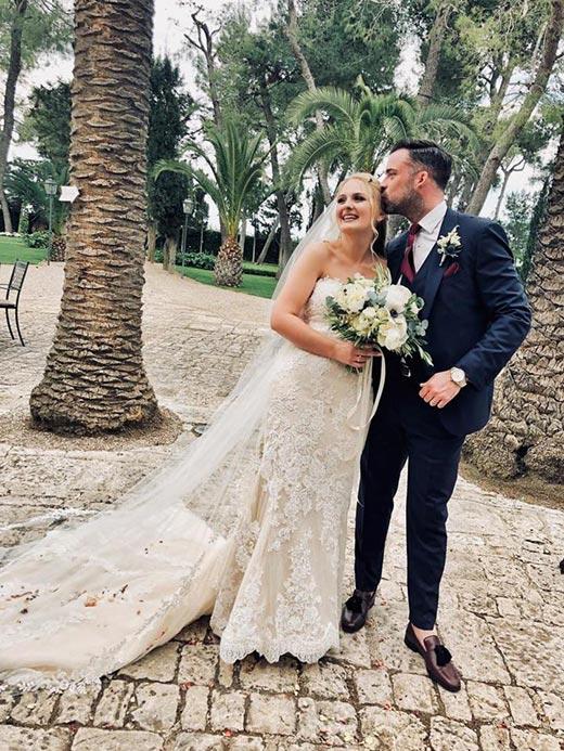 Shannon and Simmon's wedding at Castello Monaci, Apulia