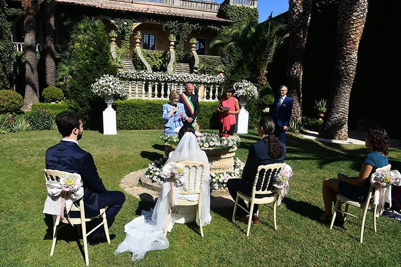 Blessing celebrant in Puglia