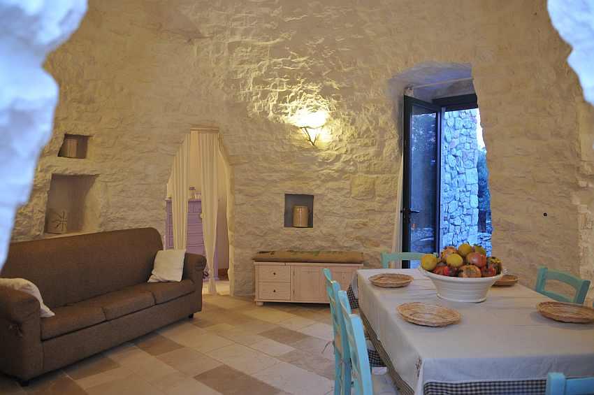 Wohnzimmer Trullo Saettone