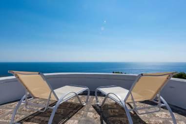 Ferienhaus mit Meerblick Apulien