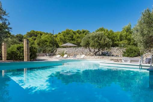 Swimmingpool Villa Leuca