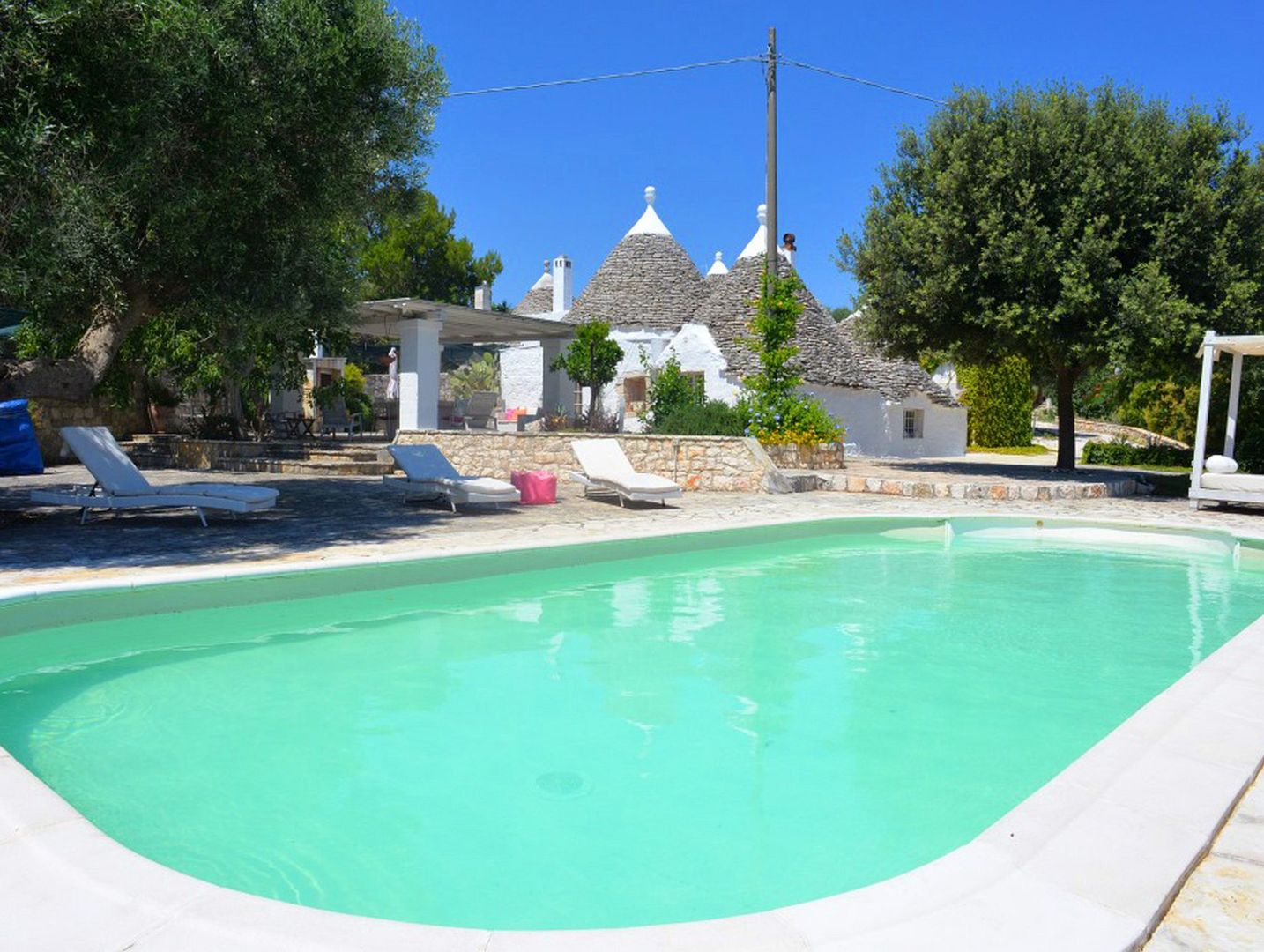 Trullo Pina Pool