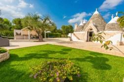 Garten Villa Apulien