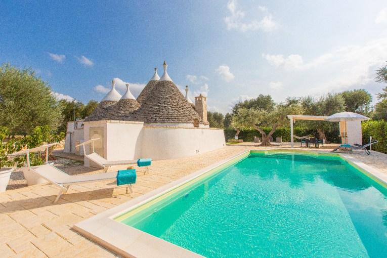 Villa mit Pool Apulien