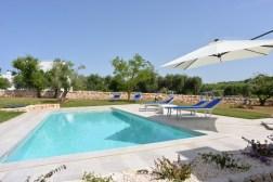 Swimming Pool Apulien Collina Verde