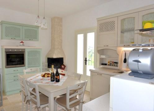 Küche Ferienhaus Collina Verde Apulien