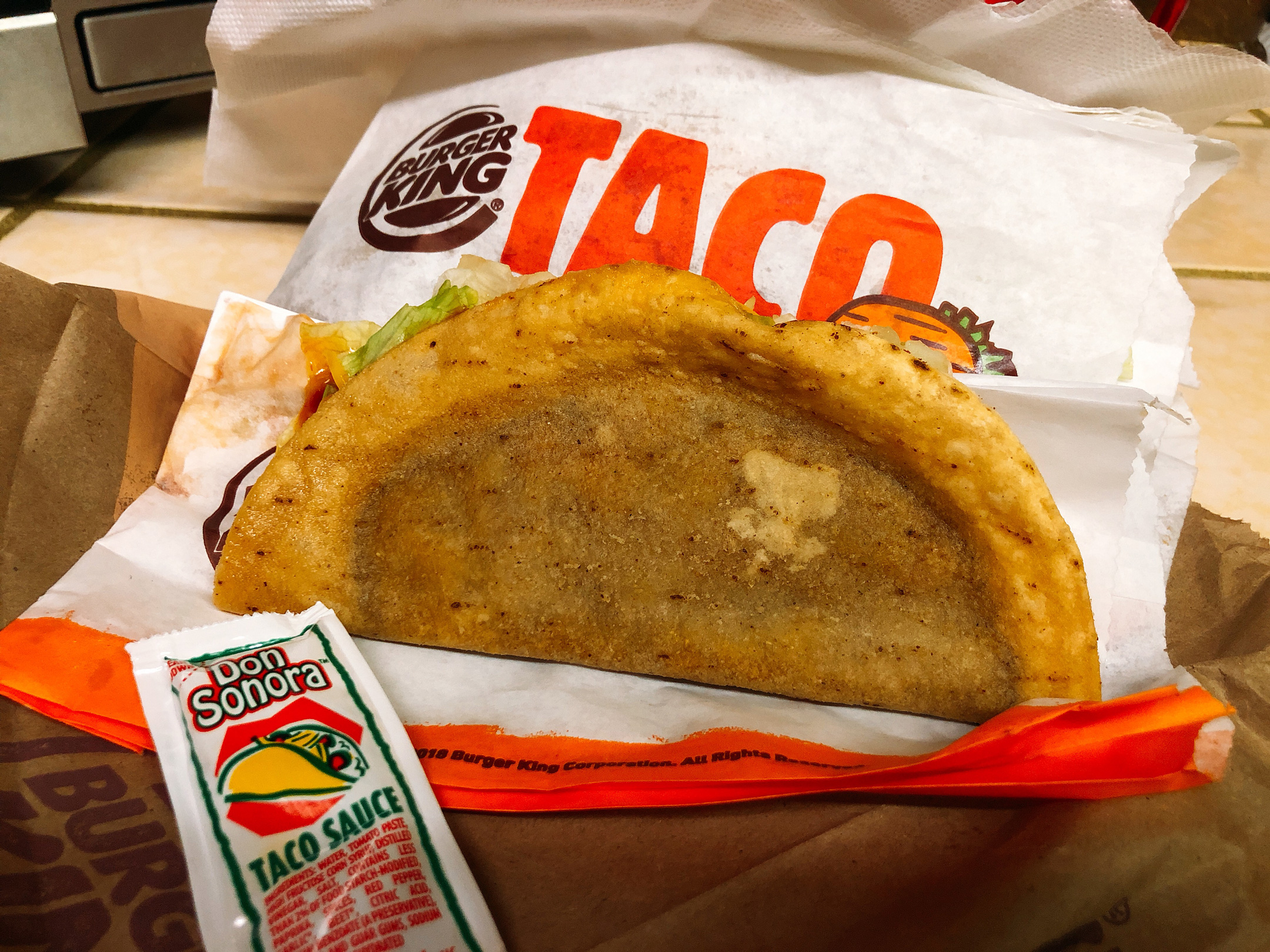 Burger King Taco