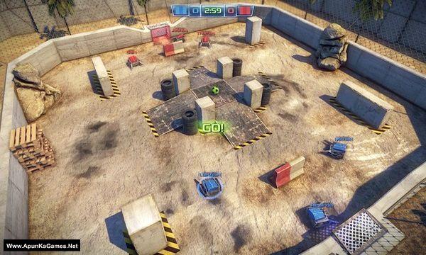 Robot Soccer Challenge Screenshot 1, Full Version, PC Game, Download Free