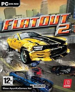 FlatOut 2 Cover, Poster, Full Version, PC Game, Download Free