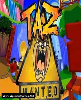 Taz: Wanted Cover, Poster, Full Version, PC Game, Download Free