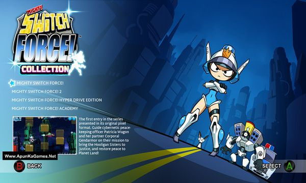 Mighty Switch Force! Collection Screenshot 1, Full Version, PC Game, Download Free