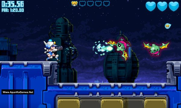 Mighty Switch Force! Collection Screenshot 2, Full Version, PC Game, Download Free