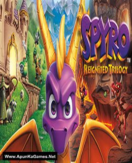 Spyro Reignited Trilogy Cover, Poster, Full Version, PC Game, Download Free